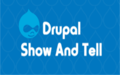 drupal show and tell logo